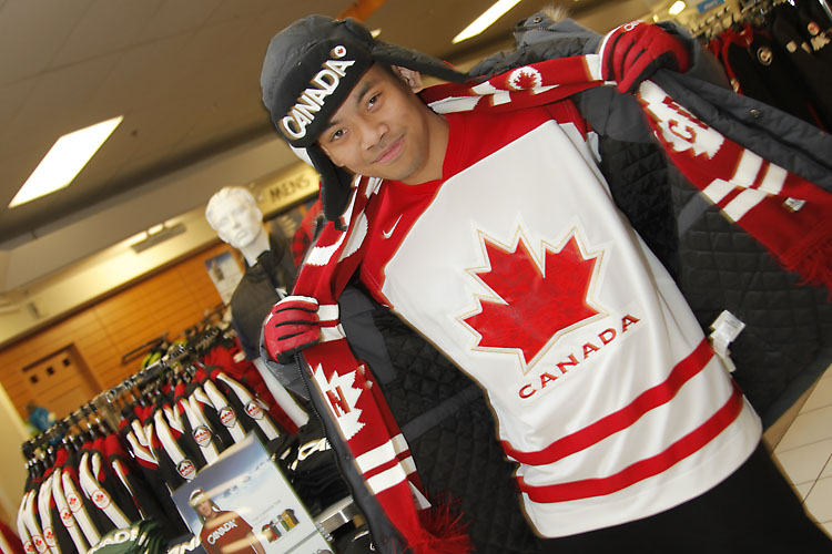 Hudson Bay Clothing Vancouver Olympics