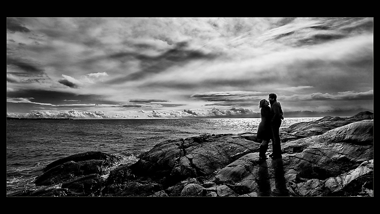 Couple at Ocean Edge
