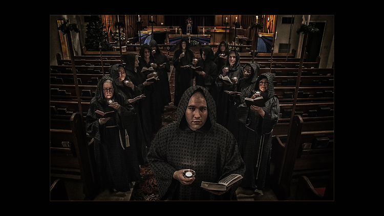 Goth Choir at Christmas